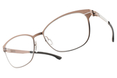 Ic! Berlin光學眼鏡 SUE R. SHINY COPPER (銅) 低調微造型框 薄鋼眼鏡 # 金橘眼鏡