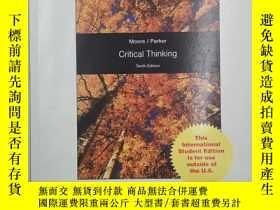 二手書博民逛書店critical罕見thinking tenth edition