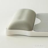 記憶棉硬質加厚滑鼠墊10mm護腕辦公手腕墊滑鼠手托筆記本電腦硬墊手枕小號家用 完美