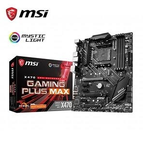 【綠蔭-免運】微星MSI X470 GAMING PLUS MAX AM4主機板