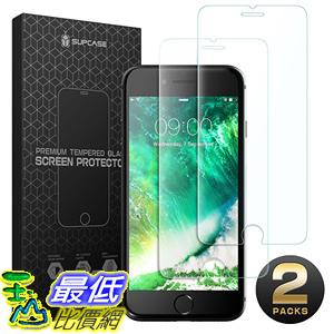 [106美國直購] 手機螢幕保護膜 SUPCASE iPhone 8 Screen Protector iPhone 7 Screen Protector Premium HD Tempered Glass