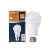 特力屋 9W LED球泡型燈泡-晝光色