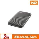 WD My Passport SSD 2TB(灰) 外接式SSD(2020)
