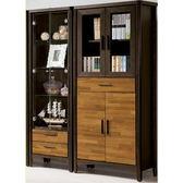 書櫃 書櫥 CV-619-5A 賽德克積層木雙色4.6尺書櫃【大眾家居舘】