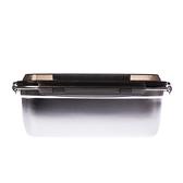 304不鏽鋼密封保鮮盒3800ml-黑