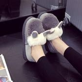 豆豆鞋豆豆鞋女冬加絨秋季毛毛鞋女外穿棉鞋女冬一腳蹬百搭鞋子 新年禮物