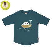 【新品上市】德國Lassig-嬰幼兒抗UV短袖泳裝上衣-海洋船