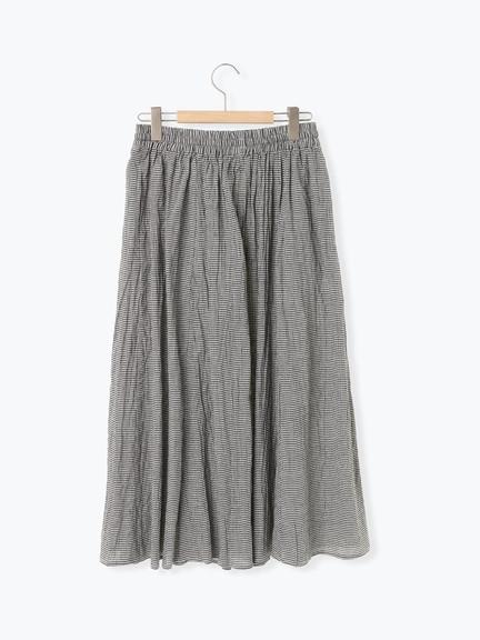 ❖ Hot item ❖ 鬆緊腰綁帶抓皺長裙 (提醒➯SM2僅單一尺寸) - Sm2