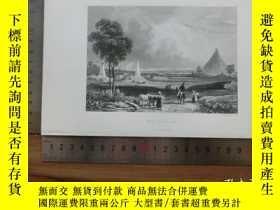 二手書博民逛書店【罕見】19世紀 銅 鋼版畫 單幅 WATERLOO( 2002
