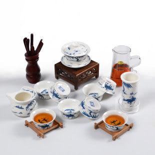 普洱茶具整套玻璃 茶杯套裝特價