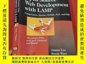 二手書博民逛書店Open罕見Source Development with Lamp: Using (16開) 【詳見圖】Y5
