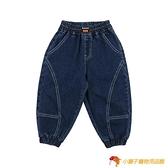 男童春裝寶寶牛仔褲男3-6歲小童潮裝小童褲子兒童長褲春秋束腳褲【小獅子】