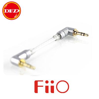 FiiO L17 3.5mm 雙L接頭發燒對錄線 無氧銅鍍銀音源線 MP3隨身聽音源線/發燒線 公司貨