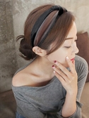發箍女韓國簡約寬邊可愛百搭甜美淑時尚氣質布藝版頭窟發卡 凱斯盾