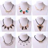 歐美 復古 珍珠 項鍊 女 韓版 鎖骨鏈 項鍊 服裝 配飾 吊墜 毛衣鏈 飾品 女