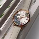 星晴錶業-Paul & Joe女錶,編號AB00001,30mm玫瑰金錶殼,白錶帶款