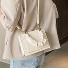 手提包 高級感包包女包2021新款潮網紅爆款時尚斜背包百搭ins手提小方包 伊蒂斯