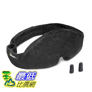 [106美國直購] Cabeau 127916 睡眠眼罩 Midnight Magic Adjustable Travel Sleep Mask