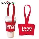 【奇奇文具】39元/個客製化300個含1色印刷含版費   加厚寬版帆布杯袋飲料杯提袋(厚12安) S1-01088-300