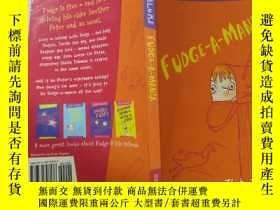 二手書博民逛書店JUDY罕見Blume Fudge-A-Mania:朱迪·布魯姆Fudge-a-ManiaY200392