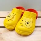 【震撼精品百貨】Winnie the Pooh 小熊維尼~台灣製正版兒童維尼布希鞋-黃色(13~18號)#20180