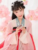 漢服 女中國風日常改良漢服夏裝女齊胸襦裙
