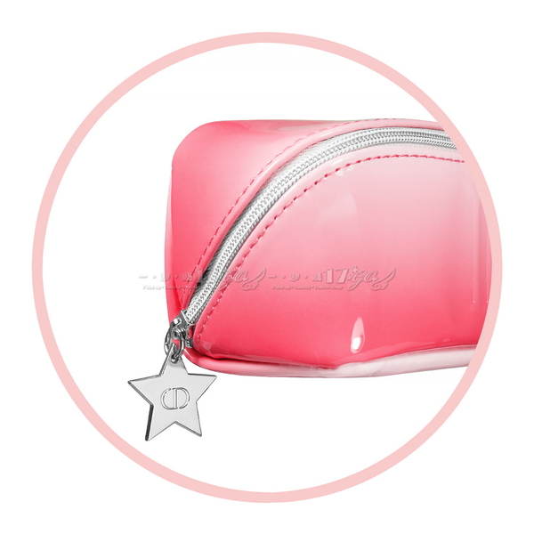 【VT薇拉寶盒】Dior 迪奧 冰沙粉漆皮星鍊包