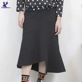【秋冬新品】American Bluedeer - 不規則魚尾裙