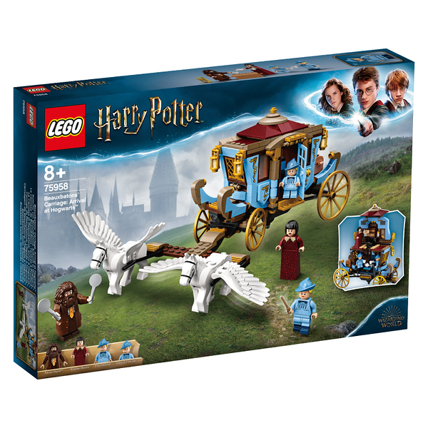 LEGO樂高 哈利波特系列 75958 Beauxbatons Carriage: Arrival at Hogwarts™ 積木 玩具