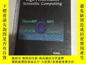 二手書博民逛書店LNTRODUCTION罕見TO HIGH PERFORMANCE SCIENTIFIC COMPUTING高性能
