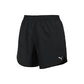 PUMA 女5吋慢跑短風褲(歐規 三分褲 運動 吸濕排汗 平織 反光  ≡排汗專家≡