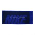 Nike 毛巾 Jacquard Towel 藍 黑 運動毛巾 純棉 盒裝 【PUMP306】 N100153949-6MD