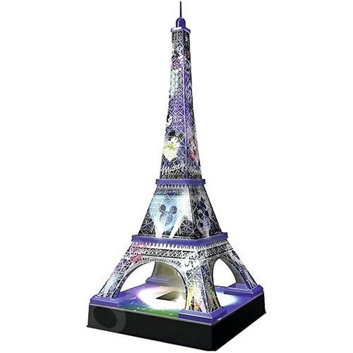 德國Ravensburger維寶3D拼圖 發光米奇巴黎鐵塔(216p)_ RV12520
