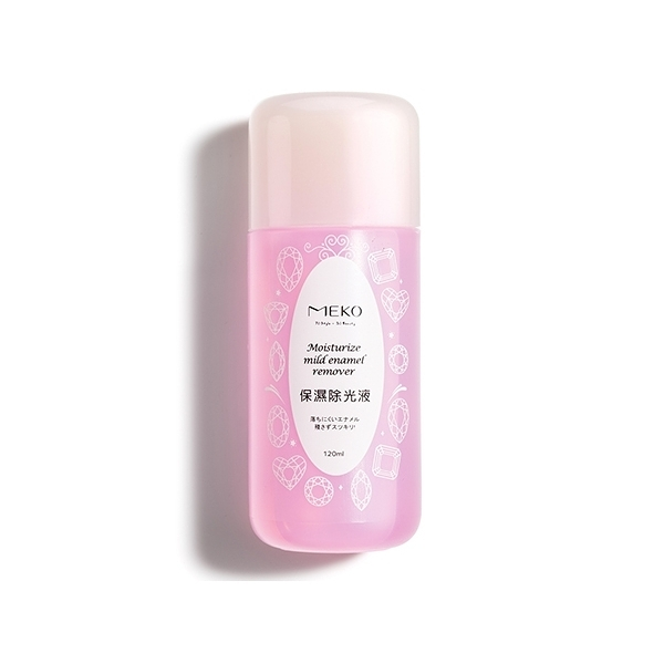 MEKO 保濕玫瑰去光水(120ml)【小三美日】除光液