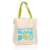 ORIGINS 品木宣言 愛地球塗鴉環保袋(27x8x25cm)【美麗購】