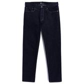 Gap男裝 時尚水洗直筒牛仔褲休閒褲 942590-水洗藏藍