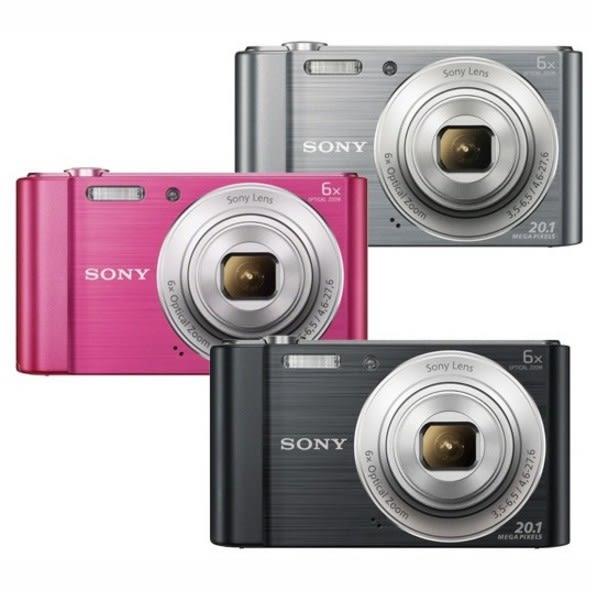 SONY DSC-W810 數位相機 ★贈16G卡+電池(共2顆)+原廠包+保護貼+小腳架+清潔組+大全配