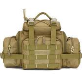 新款大容量腰包 帆布戰術腰包戶外男腰包老人旅行水壺腰包多功能