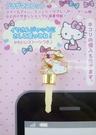 【震撼精品百貨】Hello Kitty 凱蒂貓~KITTY耳機防塵塞-英文字母S