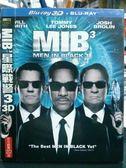 影音專賣店-Q00-487-正版BD【MIB星際戰警3 3D亦可觀賞2D 有外紙盒】-藍光電影
