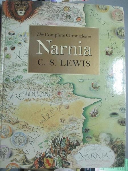 【書寶二手書T5/原文小說_QXI】THE COMPLETE CHRONICLES OF NARNIA_原價1739_C.S. Lewis