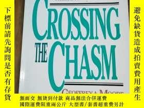 二手書博民逛書店Crossing罕見the Chasm: Marketing a