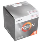 【免運費】AMD Ryzen 5-3400G 3.7GHz 四核心處理器 R5-3400G (內含風扇)