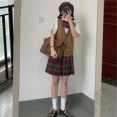 jk毛衣背心針織馬甲女寬鬆外穿【小酒窩服飾】