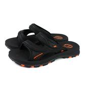 G.P 阿亮代言 拖鞋式涼鞋 雨天 黑/橘 男鞋 G0560-42 no380