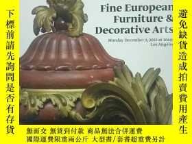 二手書博民逛書店孤本:《fine罕見european furniture & d