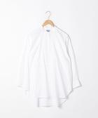 長版襯衫 府綢 立領 休閒襯衫 日本品牌【coen】
