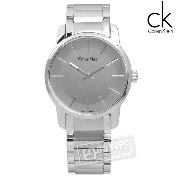 CK / K2G23148 / 都會女伶鏡面不鏽鋼腕錶 銀色 31mm