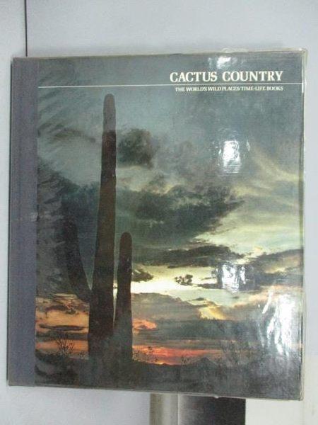 【書寶二手書T2/地理_QCW】Cactus Country