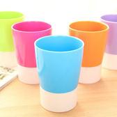 ◄ 生活家精品 ►【S37】創意喝水杯 多用糖果色洗漱杯 漱口杯 塑料牙刷 杯子 撞色水杯